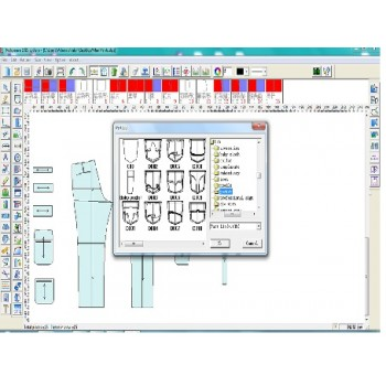 Программа для конструирование одежды САПР Richpeace CAD V9