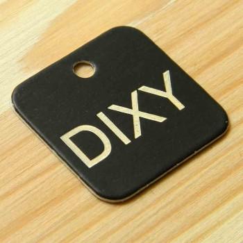 """Картонные этикетки """"Dixy"""" 3х3 см"""