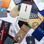 Бумажные, картонные бирки