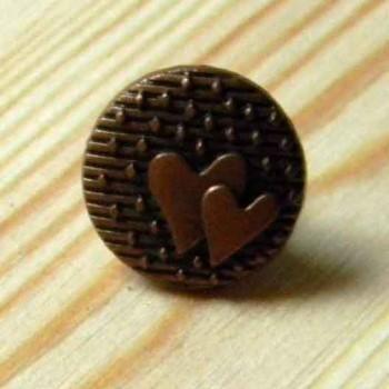 Кнопка металлическая под медь
