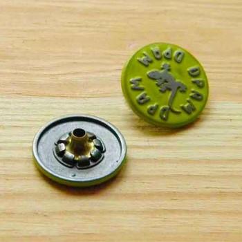 Кнопка металлическая цветная
