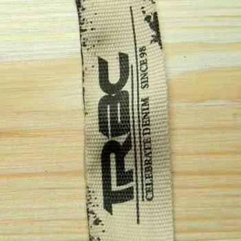 "Тканевая этикетка в рулоне ""Trac"" 2,5 см"