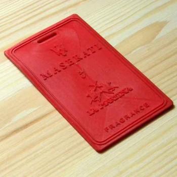 """Резиновая навесная этикетка """"Maserati"""""""