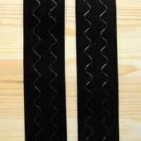Резинка на одежду с силиконом 4 см