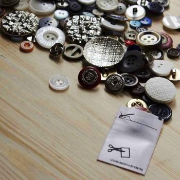 Сатиновый пришивной карман для фурнитуры
