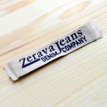 """Этикетки элитные """"Zerava"""" 12х2 см"""