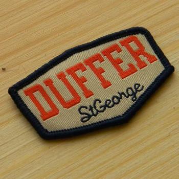 """Нашивка для одежды жаккардовая """"Duffer"""""""