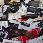 Тканевые (жаккардовые) этикетки на одежду