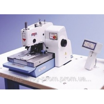 Электронная петельная машина с глазком REECE S 311