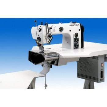 DURKOPP-ADLER 550-5-6 Рабочее место для притачивания корсажа к поясу брюк