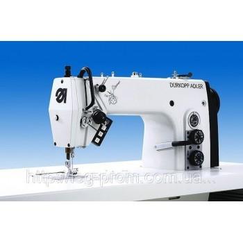 DURKOPP-ADLER 272-740642/E113   Одноигольная швейная машина челночного стежка с нижним реечным и игольным продвижением, с устройством обрезки края