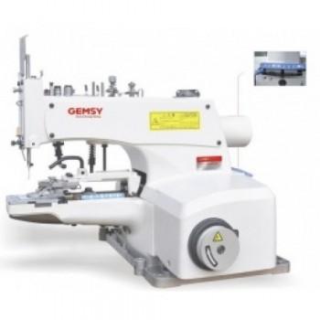 Gemsy Gem 1377D пуговичная машина автомат со встроенным приводом