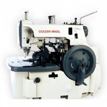 GoldenWeel (Minerva type) 31168-6 промышленный петельный полуавтомат для выполнения глазковой петли