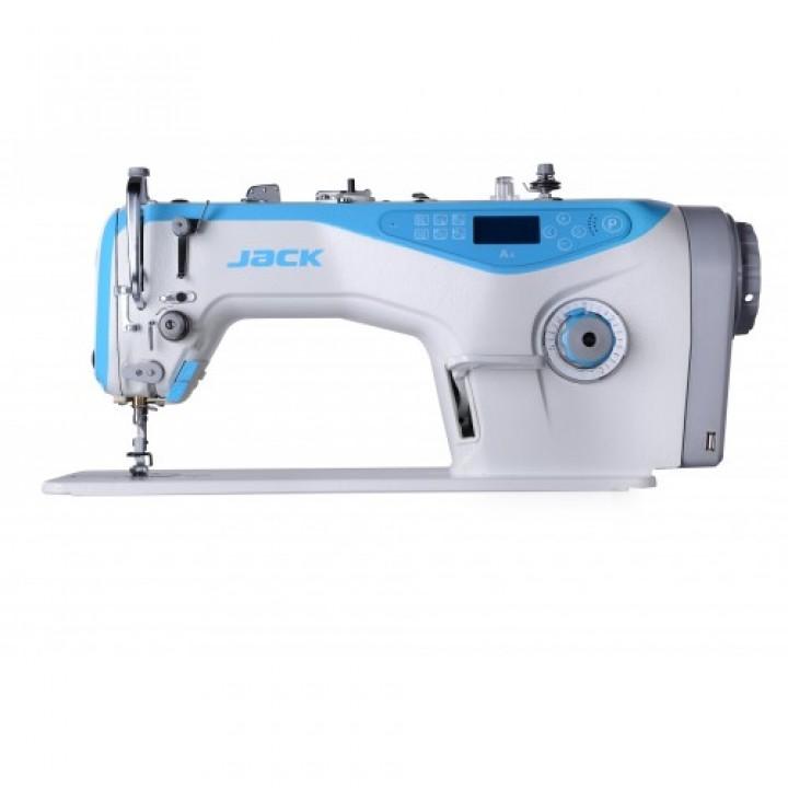 """Jack JK-A4-H7 одноигольная прямострочная """"говорящяя"""" швейная машины с автоматикой для тяжелых тканей"""