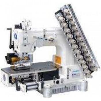 Jack JK-8009VC-06064P Шестиигольная машина для втачивания резинки в пояс брюк