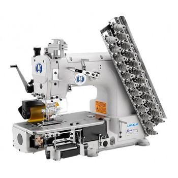 Jack JK-8009VC-25032P 25-игольная швейная машина цепного двухниточного стежка