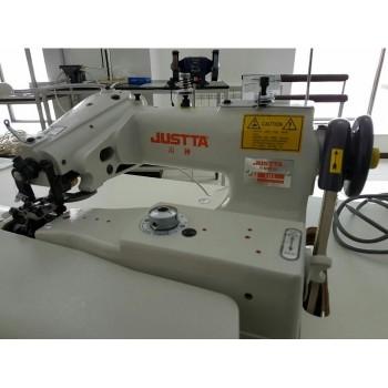 JUSTTA JT-101 промышленная швейная машина потайного стежка