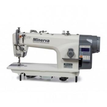 Minerva 9800JE4-H  1-игольная прямострочная машина с автоматикой