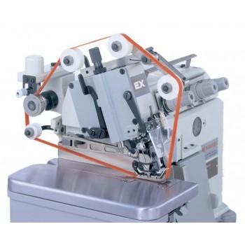 Pegasus EX5214-54/443K-2*5/BF210 4-ниточный оверлок для сшивания экстра тяжелых Тип тканиов