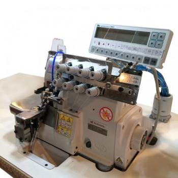 Pegasus MX5214M-83BA/333K-2*4/BL/Y2103 с автоматической закрепкой 4-ниточный ультраскоросной оверолок