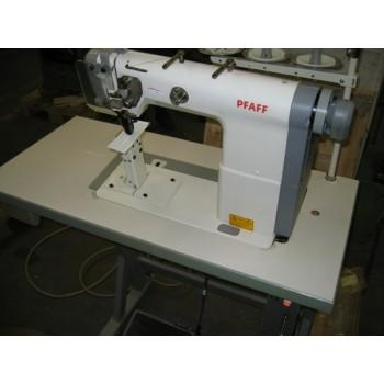 Pfaff 1194х1,6 2-х игольная швейная машина челночного стежка с колонковой платформой, нижним реечным транспортом и прижимной роликовой лапкой