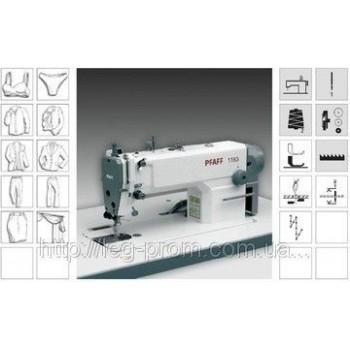 PFAFF 1163 - 6/01- 900/93-   1-о игольная, универсальная, быстроходная швейная машина челночного стежка с нижним транспортом и автоматикой