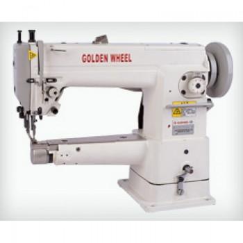 GOLDEN WHEEL CS-2450N-A Высокоскоростная одноигольная машина челночного стежка строчки зиг-заг