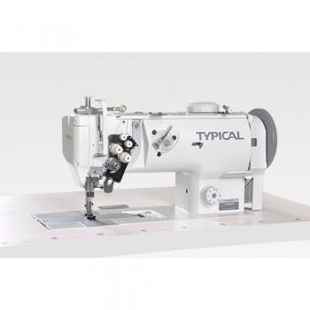 Промышленная 2-х игольная швейная машина TYPICAL GC-20676 (с отключением игл)