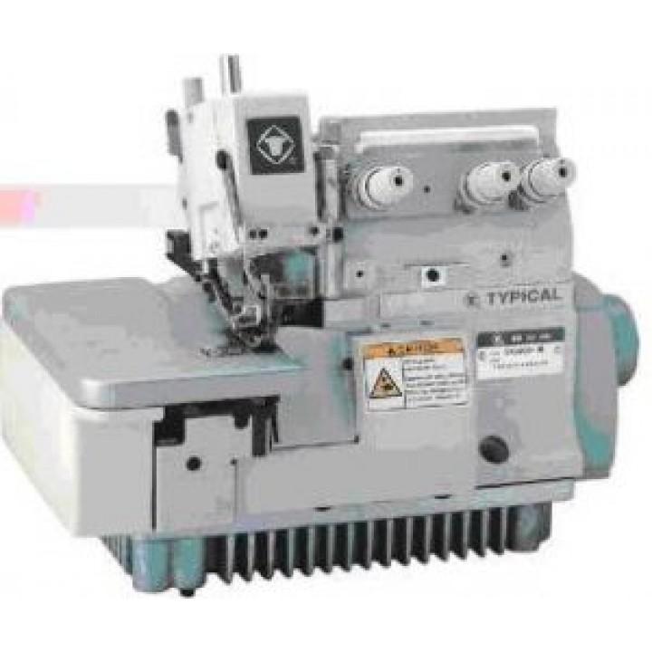 Typical GN2000/3000-3C промышленный оверлок с закреплением строчки