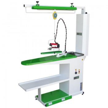 WerMac С203 Professional консольный гладильный стол с пантографом и камином