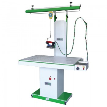 WerMac С303Professional прямоугольный гладильный стол с пантографом и камином