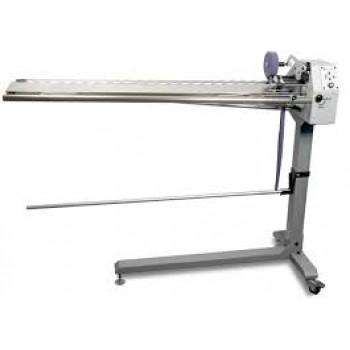 ZOJE ZJ-933   Автоматизированная раскройная машина предназначена для нарезки бейки из тканевого или трикотажного цилиндрического чулка