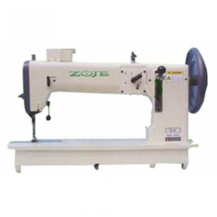 ZOJE ZJ243 Одноигольная швейная машина челночного стежка с унисонным продвижением, качающимся челнок