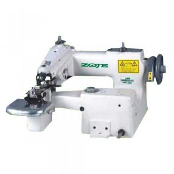 ZOJE ZJ-860 Шлевочная  швейная машина , одноигольная машина потайного стежка для изготовления шлевки