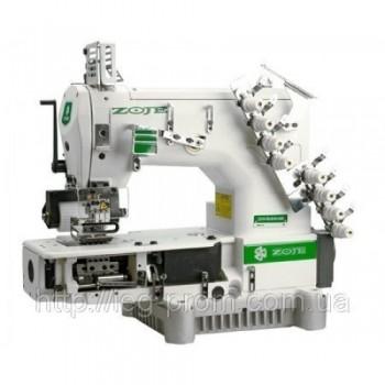 Zoje ZJ1414-100-403-601-609-04064/254 Четырехигольная машина с цилиндрической платформой