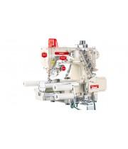 Промышленная распошивальная машина с автоматикой, цилиндрической рукавной платформой с левым ножом и вакуумным отсосом остатков обрезки Baoyu BML-787-L200-AST-DS/H