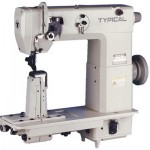 Колонковая промышленная швейная машина