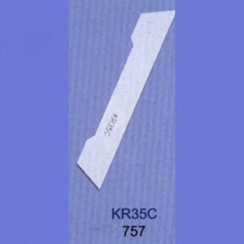 Нож нижний победитовый KR35C Siruba