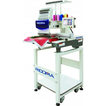 Ricoma MT-1501TC-7S 15-игольная одноголовочная вышивальная машина для тяжелых Тип тканиов