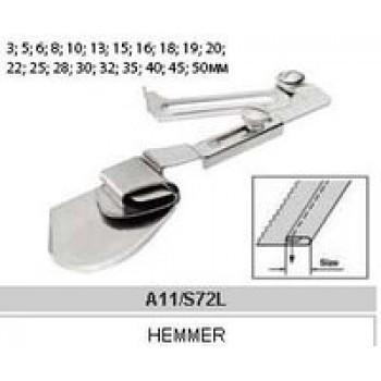 Рубильник для двойной подгибки A11 6mm