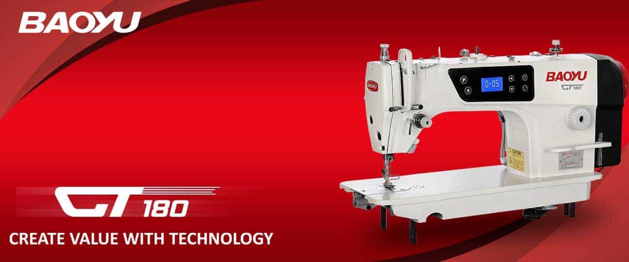 Одноигольная промышленная швейная машина Baoyu GT180